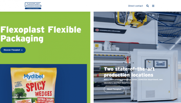 Flexoplast's new website